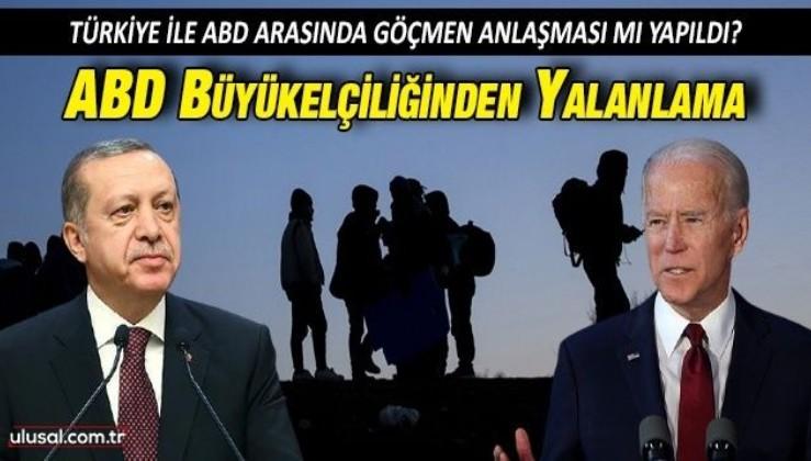 ABD Büyükelçiliğinden Erdoğan-Biden arasında anlaşma iddialarına yalanlama