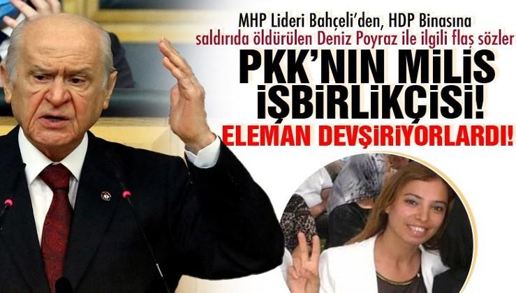 MHP lideri Devlet Bahçeli'den tarihi ayar: Dağda bir aslan biliriz
