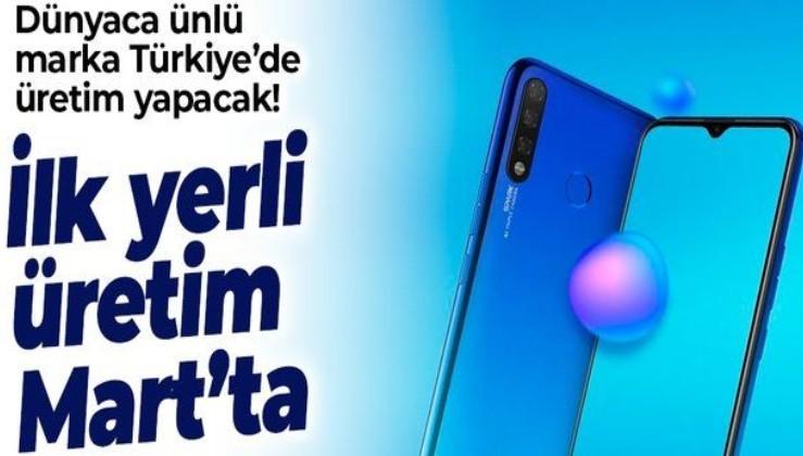 SON DAKİKA: Akıllı telefon üreticisi Tecno Türkiye'ye 25 milyon dolardan fazla yatırım yapacak: İlk yerli üretim Mart'ta