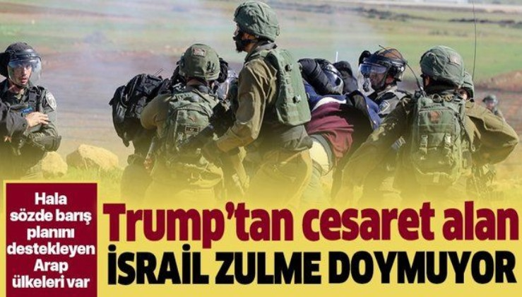 İsrail zulmü sürüyor!.