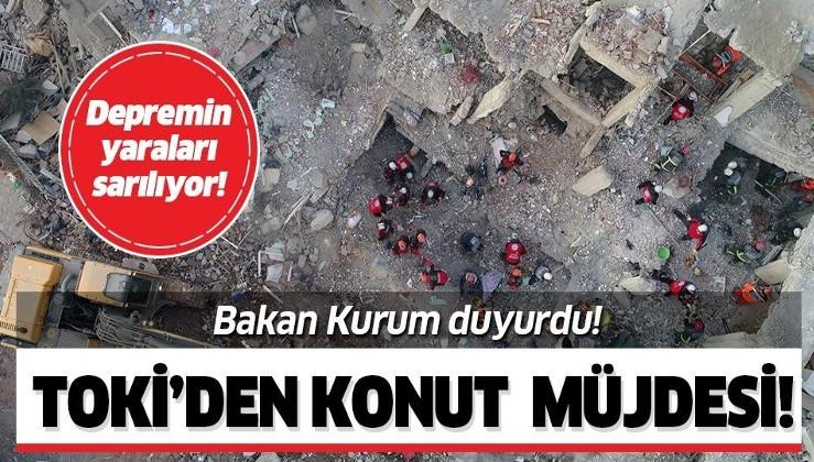 Son dakika: TOKİ'den Malatya ve Elazığ'a 23 bin 734 konut! Bakan Kurum açıkladı!