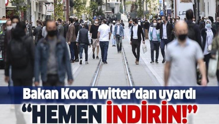 Sağlık Bakanı Fahrettin Koca'dan 'HES' uyarısı: Uygulamayı hemen indirin