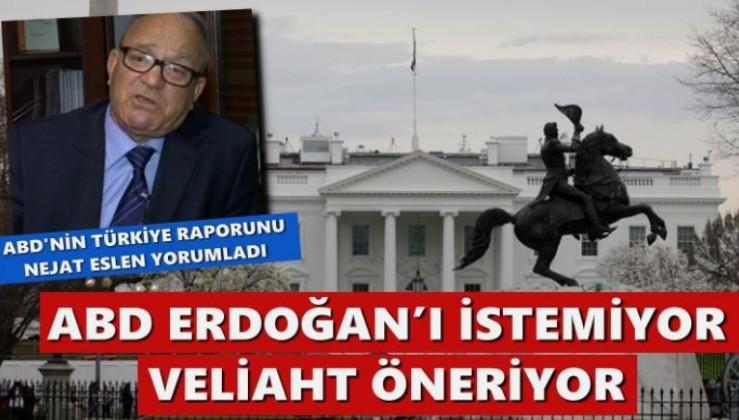 Nejat Eslen, o raporu yorumladı: ABD Erdoğan'ı istemiyor, veliaht öneriyor