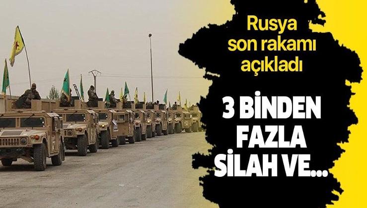 Rusya 34 bin YPG/PKK'lının güvenli bölgeden çıktığını açıkladı.
