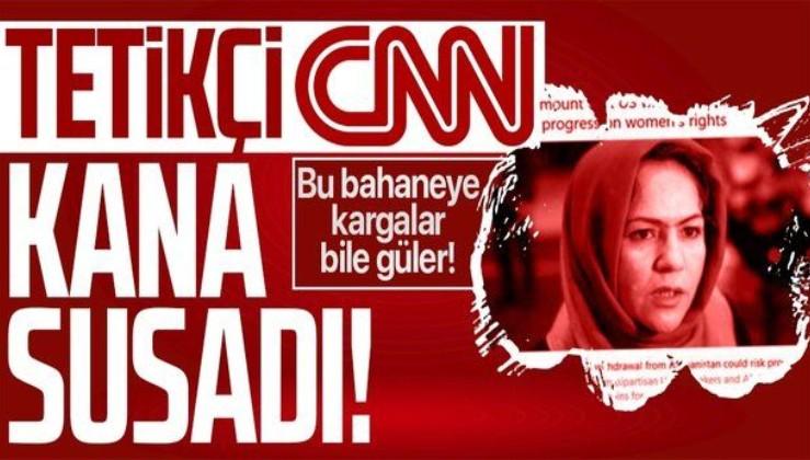 ABD'nin medya tetikçisi CNN Afganistan üzerinden emperyalist açlık çekiyor! Tepki çeken haber
