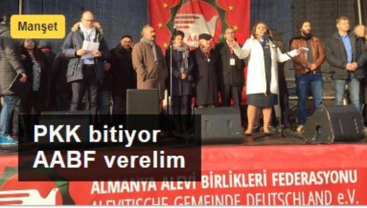 Almanya'nın Aleviler üzerinden bölücülük planı: PKK bitiyor AABF verelim