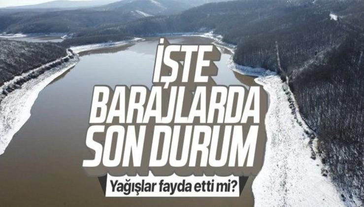 İstanbul'da 19 Ocak itibariyle barajlardaki doluluk oranları açıklandı! İşte İSKİ verileri