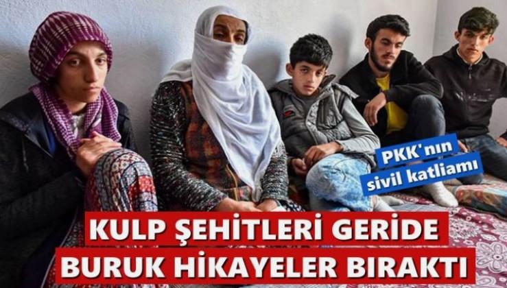 PKK'nın katlettiği Kulp şehitleri geride buruk hikayeler bıraktı