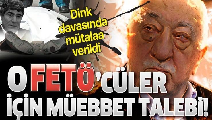 Son dakika: Hrant Dink davasında mütalaa verildi! FETÖ'cü Ramazan Akyürek ve Ali Fuat Yılmazer için müebbet talebi!