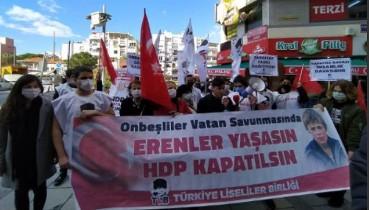 İZMİR'İN LİSELİLERİNDEN ÇAĞRI: ERENLER YAŞASIN, HDP KAPATILSIN