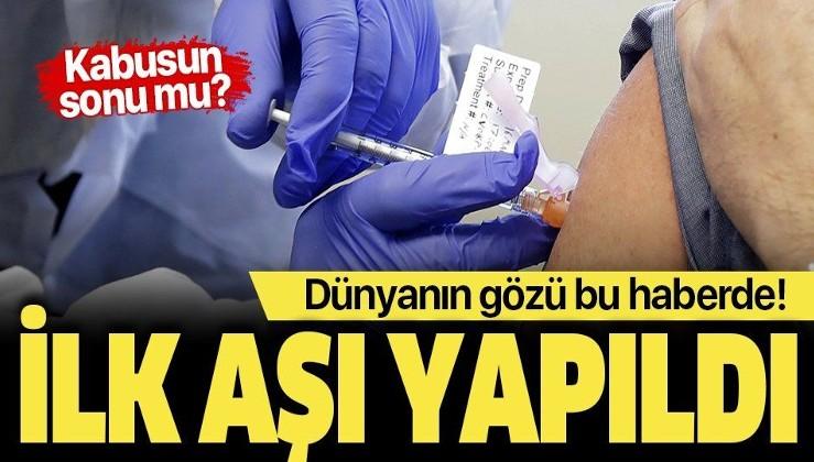 Son dakika: Koronavirüs aşısı test edilmeye başlandı! Korona kabusunun sonu mu?.