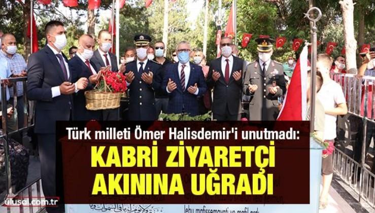Türk milleti Ömer Halisdemir'i unutmadı: Kabri ziyaretçi akınına uğradı