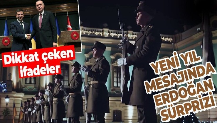 Ukrayna Devlet Başkanı Zelenskiy'nin yeni yıl konuşmasında 'Türkiye' detayı!