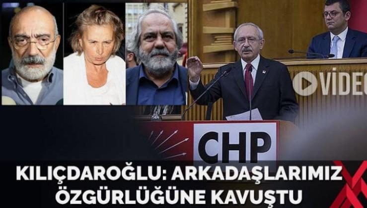 Kılıçdaroğlu'ndan Ilıcak ve Altan açıklaması: Arkadaşlarımız özgürlüğüne kavuştu