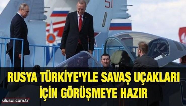 Rusya Türkiye'yle Su-35 ve Su-57 savaş uçaklarının tedarikine ilişkin görüşmeye hazır