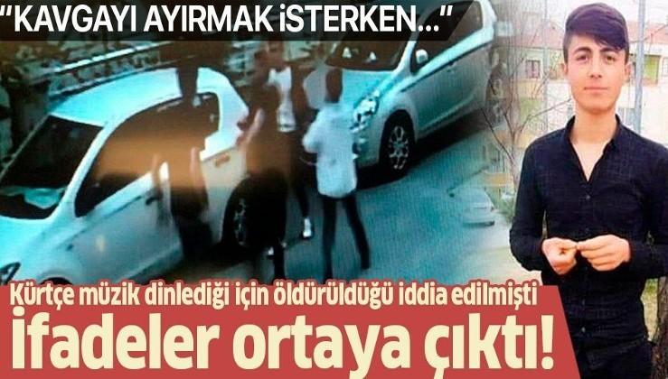 Son dakika: Barış Çakan cinayetinde ifadeler ortaya çıktı! Kavgayı ayırmak isterken ölmüş