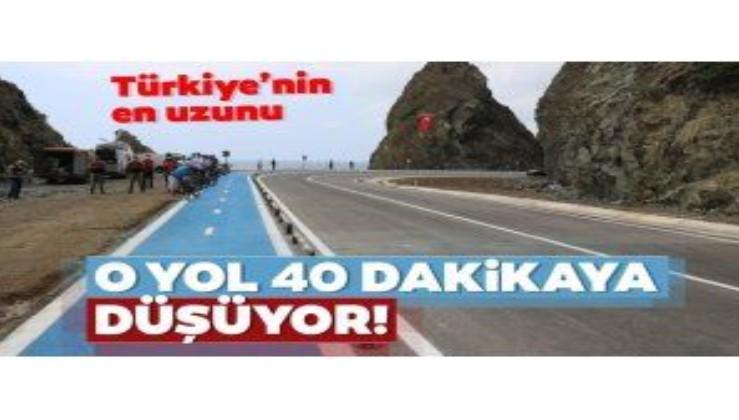 Türkiye'nin en uzun bisiklet yolu! Tam 26 km