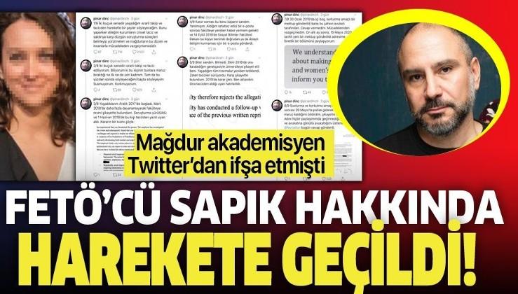 FETÖ'cü Umut Özkırımlı'yı deşifre etmişti! Akademisyen Pınar Dinç'in taciz iddiaları üzerine başsavcılık harekete geçti