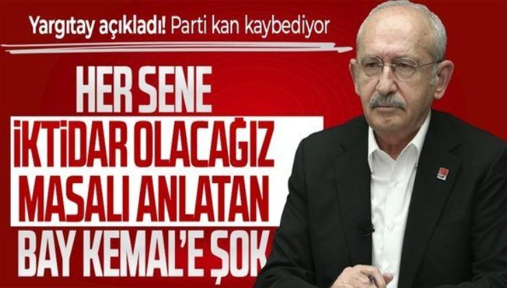 Kılıçdaroğlu'na şok! Yargıtay açıkladı! Parti kan kaybediyor