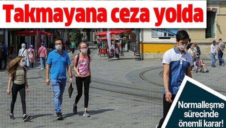 Maske takmayana ceza yolda! Koronavirüs Bilim Kurulu üyeleri önerdi