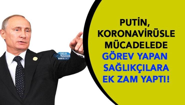 Rusya Devlet Başkanı Putin Doktor ve Hemşirelerin Maaşlarına Ek Zam Yaptı! ı