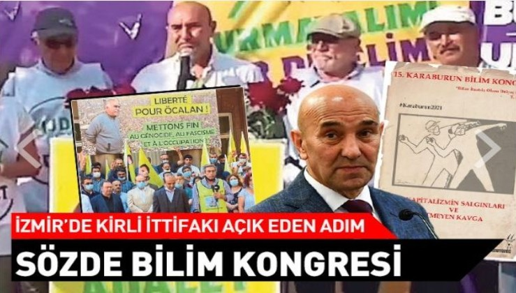 CHP/HDP'den ortak etkinlik: Kirli ittifakla bilime ihanet