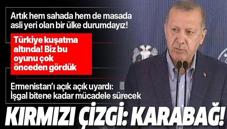 Cumhurbaşkanı Erdoğan: Türkiye kuşatma altına alınmaya çalışılıyor