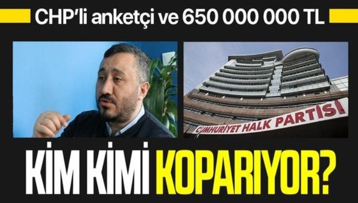 İnce'yi harcamak için CHP'nin anketçisi Kemal Özkiraz'ın 650 milyon TL'den ne kadar aldığı merak ediliyor