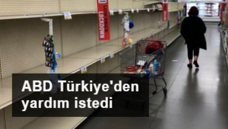 Salgının merkezi ABD, Türkiye'den yardım istedi