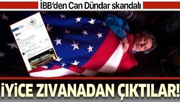 İBB'den Can Dündar skandalı.