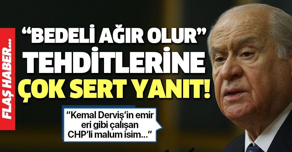 Son dakika: MHP lideri Devlet Bahçeli'den CHP'li Faik Öztrak'a sert tepki.