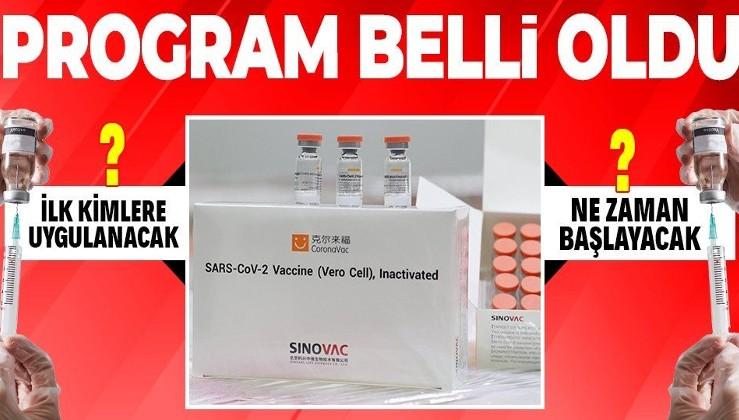 Türkiye'de koronavirüs aşısı ilk kimlere yapılacak? Aşılama programı nasıl olacak? İlk aşılama ne zaman yapılacak?