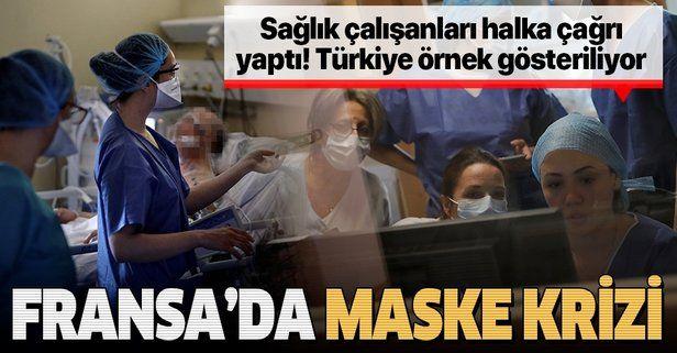 Fransa'da maske krizi: Sağlık çalışanları halka bağış çağrısı yaptı