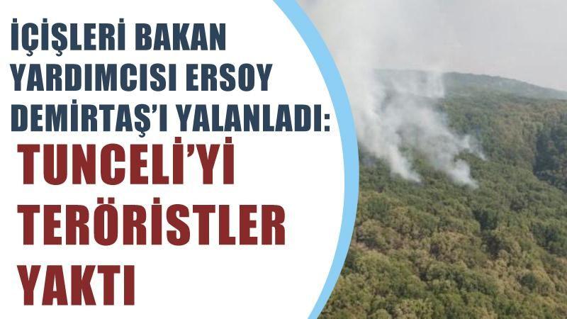 İçişleri Bakan Yardımcısı Ersoy, Demirtaş'ı yalanladı