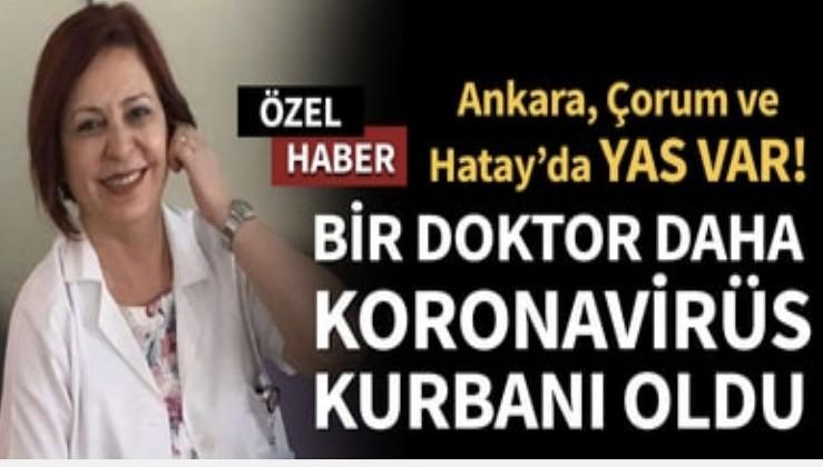 Son dakika... Bir doktor daha koronavirüs kurbanı oldu! Prof. Dr. Refika Ferda Artuz'un ölüm haberi sevenlerini üzdü