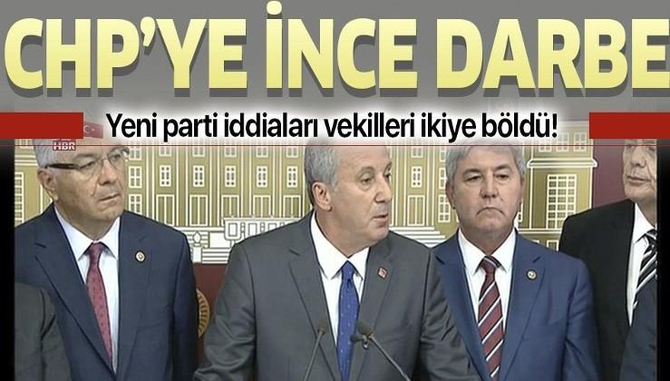 Muharrem İnce'nin 'yeni parti' açıklaması kulisleri hareketlendirdi! CHP kan kaybedecek