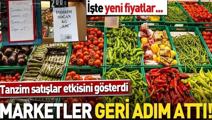 'Tanzim' satış başladı marketler geri adım attı! Fiyatlar yüzde 50'den fazla düştü.
