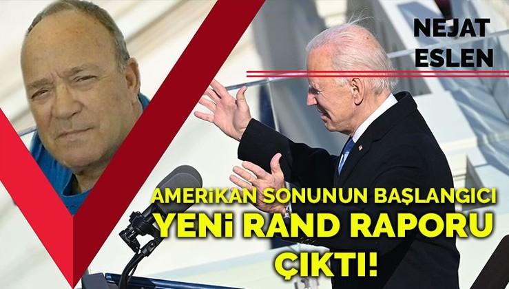 Yeni Rand raporu çıktı! Amerika'nın sonunun başlangıcı