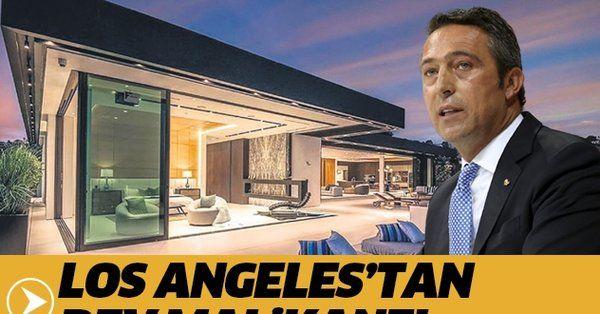 Ali Koç Los Angeles'tan 14.5 milyon dolara malikane aldı