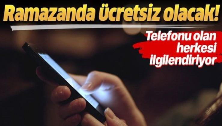Ramazanda vatandaşlara ücretsiz internet hediyesi! Bakan açıkladı