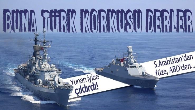 Türkiye korkusu Yunanistan'ı çıldırttı! S.Arabistan'dan füze, ABD'den...