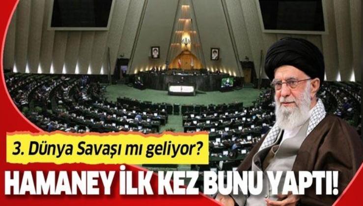 İran'da bir ilk! Hamaney ilk kez Milli Güvenlik Kurulu'na başkanlık etti!.