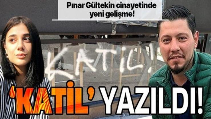 Pınar Gültekin'in katil zanlısı Cemal Metin Avcı'nın işlettiği bar kapatıldı! Barın duvarlarına katil yazıldı!