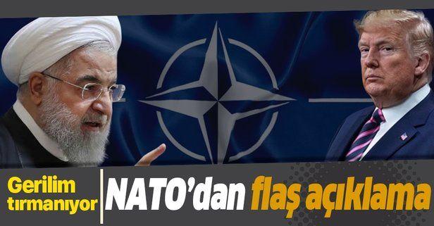 Son dakika: NATO'dan İran'a sert tepki!