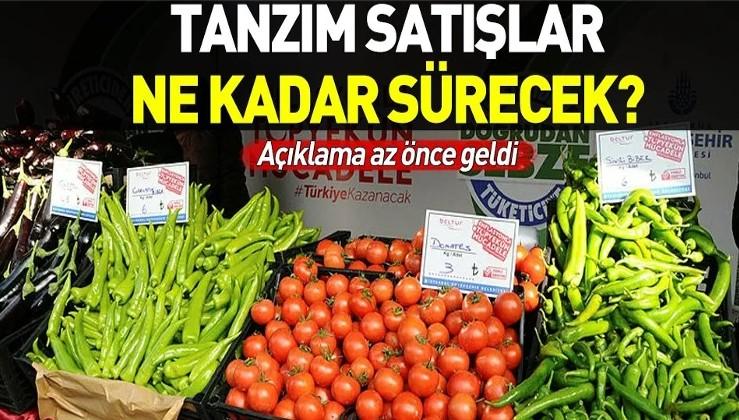 Tarım Kredi Genel Müdürü Fahrettin Poyraz'dan tanzim satışlarla ilgili flaş açıklama.