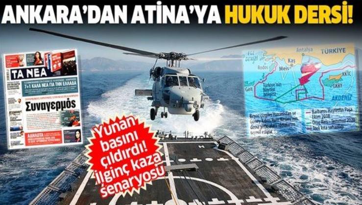 Ankara'dan Atina'ya hukuk dersi