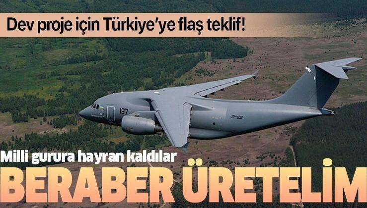 Antonov'dan Türkiye'ye dev teklif: Beraber üretelim
