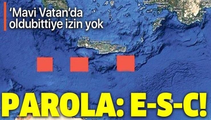 Türk Deniz Kuvvetleri'nin parolası belli oldu! Etkin, Saygın, Caydırıcı