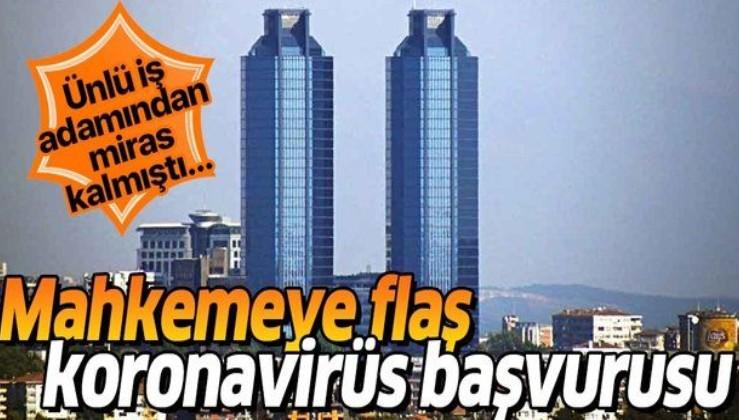 Koronavirüse karşı mahkemeye Tat Towers başvurusu! Sağlık Bakanlığı'na....