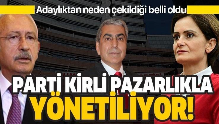Cemal Canpolat Kılıçdaroğlu'nun talimatıyla adaylıktan çekilmişti! Kirli pazarlık ortaya çıktı!.